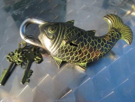 Hengjel�s, stor fisk