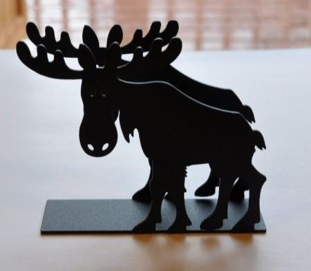 Servietthaldar, elg